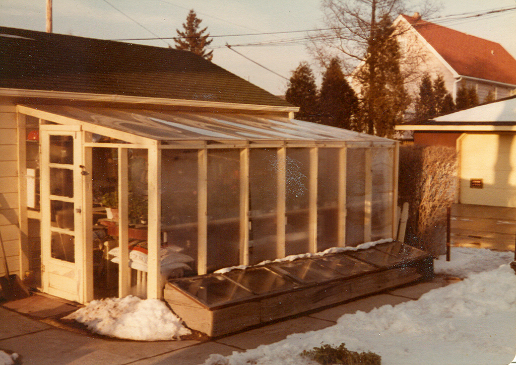 Wildewood - The name comes from a combination of two family names, Wilde & Wood. As she embarked on this venture, embracing family before her and in her native state, Kate wanted to make sure to choose a name that reflected her journeyPictured: Grandpa's greenhouse full of geraniums, Milwaukee, WI 1977