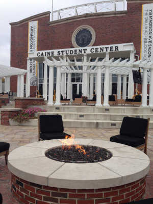 Hey campuses: every student center should have fire pits...