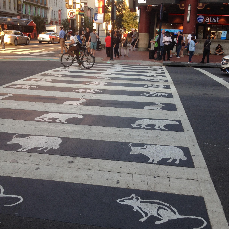 Chinatown Zodiac Crosswalk