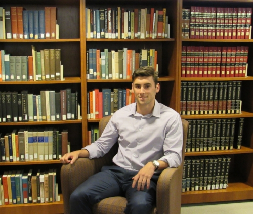 Kevin Mathieson '19, Interning at the Woodrow Wilson International Center for Scholars