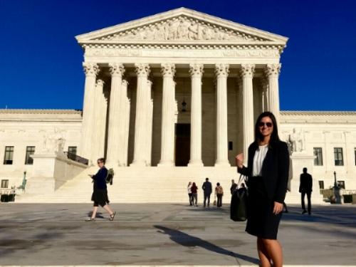Marissa Palladini '18, Intern at the Supreme Court