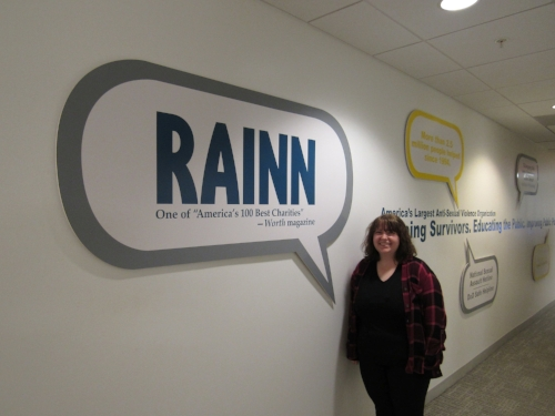 SARA SNYDER '20, INTERN AT RAINN