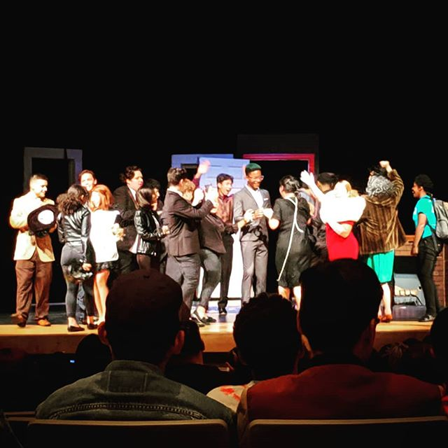 Watched a young director debut his production of CLUE. Great show. Great Job! #supportyoungartists #supportyoungtalent  #thebankruptcinema
