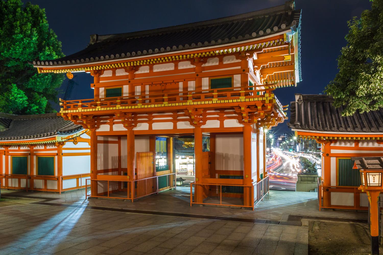 Yasaka Shrine gate, Kyoto, Japan