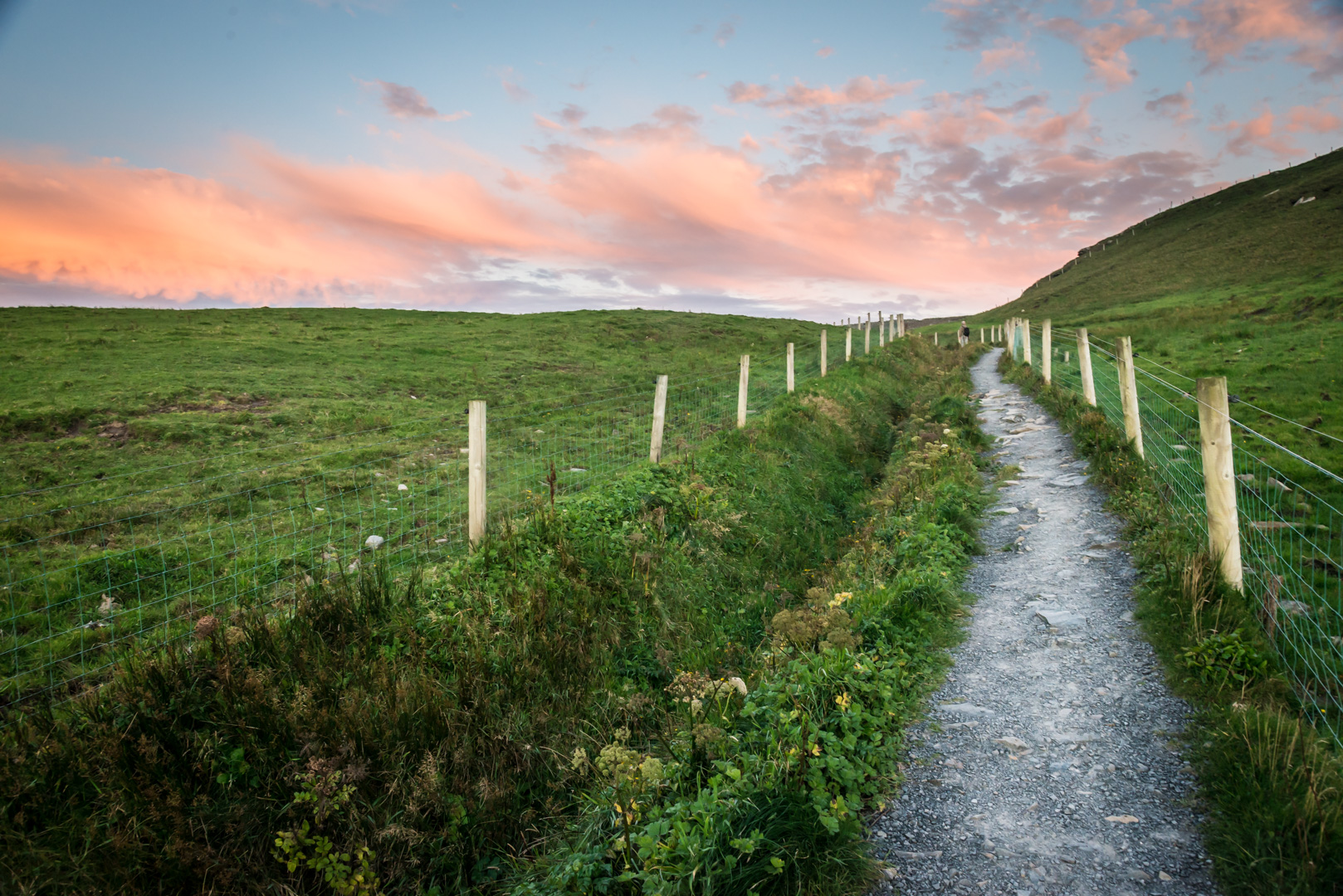 Pathway, Cliffs of Moher