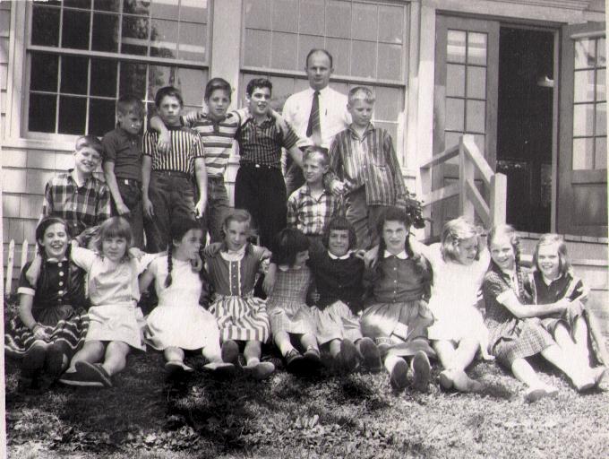 John Holt's 5th Grade Class, circa 1955