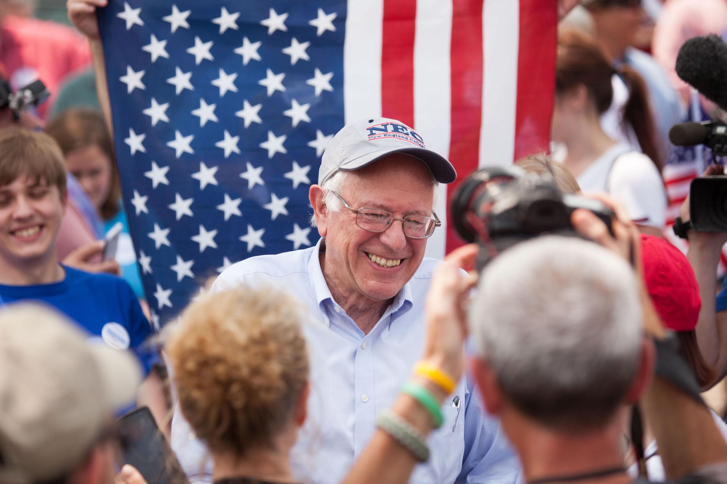 Bernie, 2016