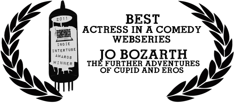 "Jo Bozarth wins ""Best Actress in a Comedy"" at the 2nd Annual Indie Intertube Awards"