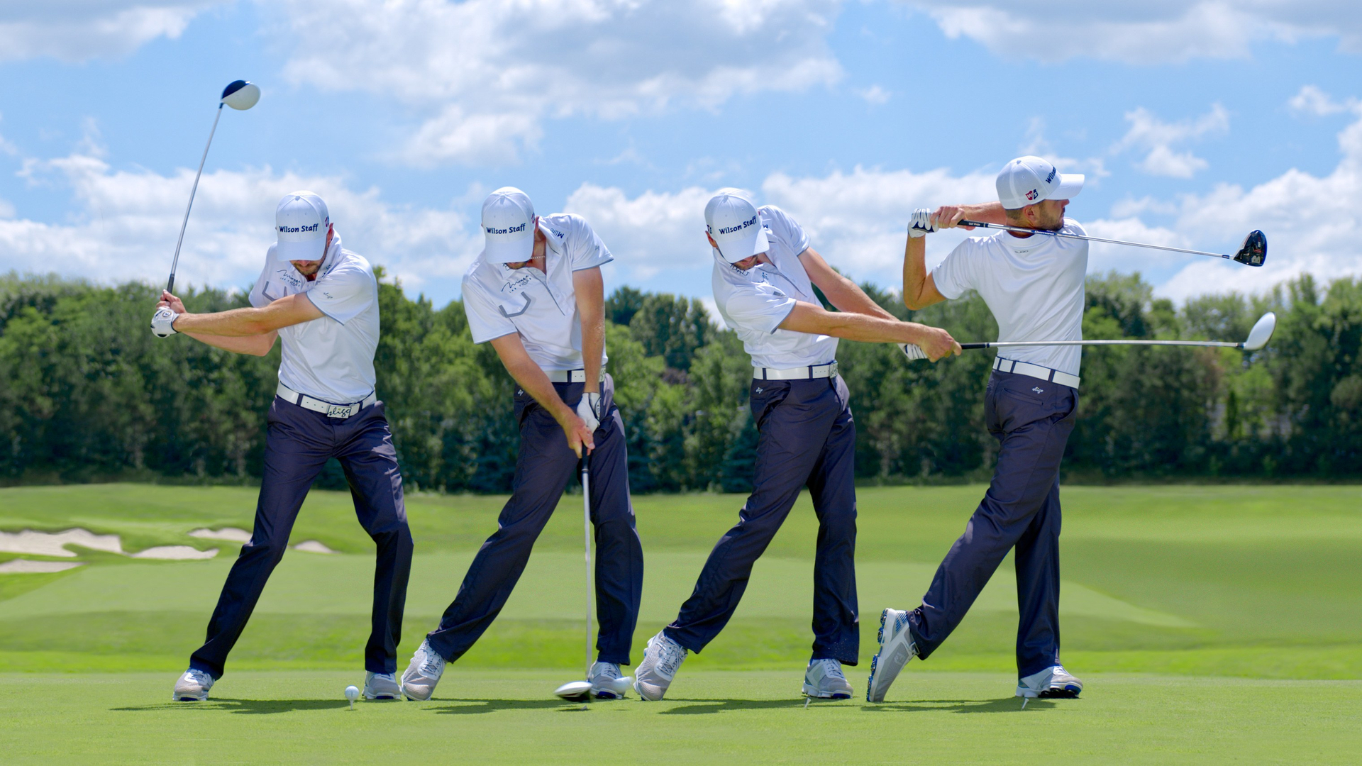 While creating rotational force is vital in movements like a golf swing or baseball pitch, resisting over-rotation is possibly more important to control the accuracy and repeatability of the skill.