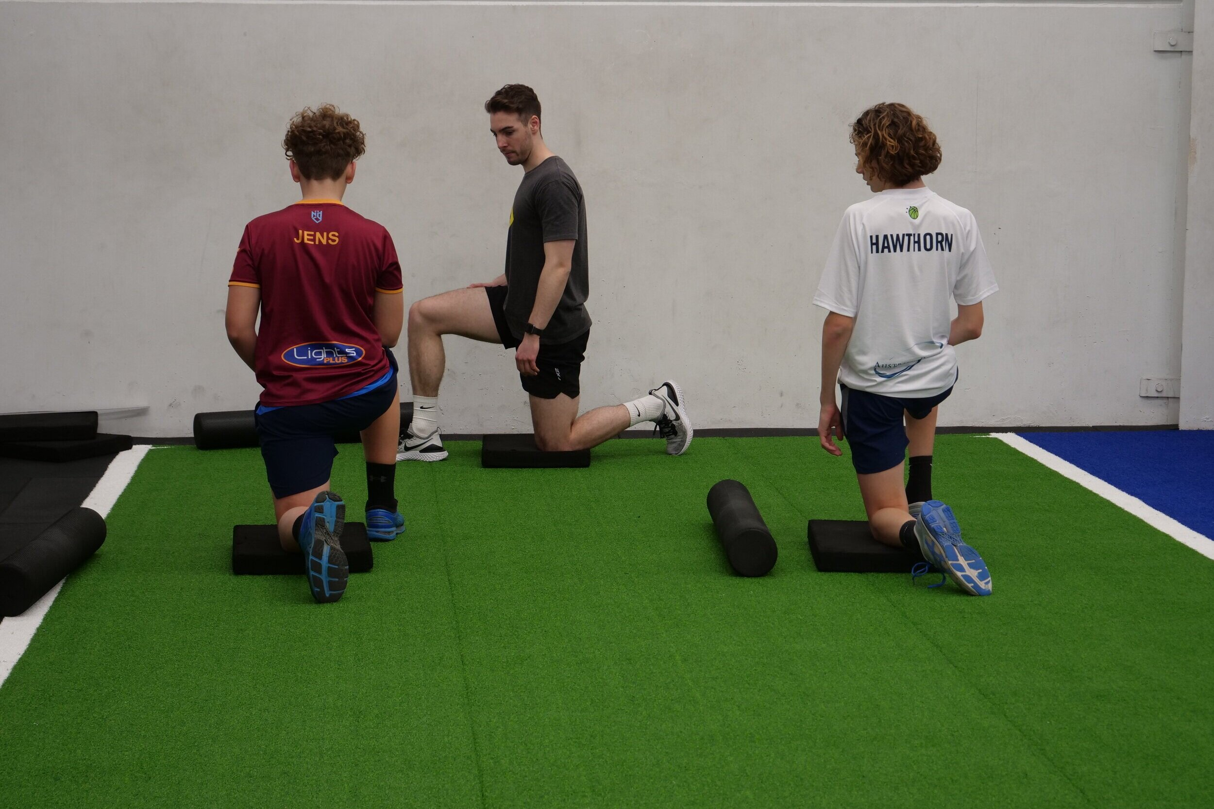 One hour performance testing session - Undergo an injury assessment and baseline performance testing session to help us see where you are now and where you need to be.
