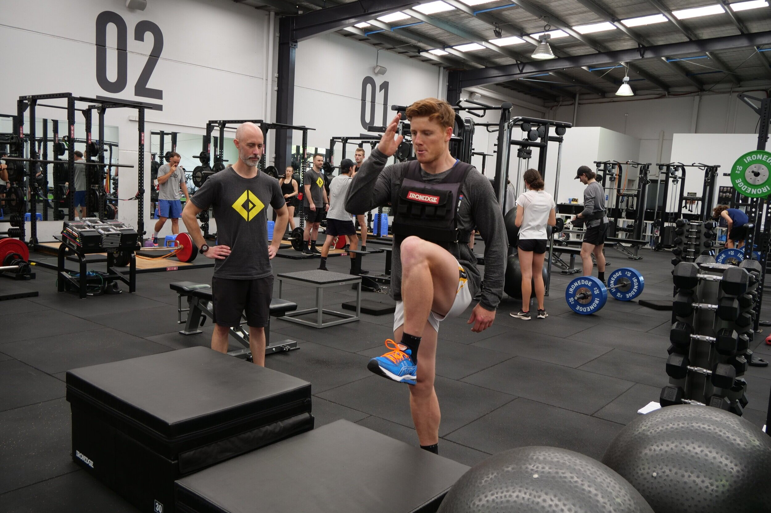 Unlimited training sessions to achieve your goals - Train in our state-of-the-art fully supervised gym with UNLIMITED weekly training sessions and see your athletic performance increase.