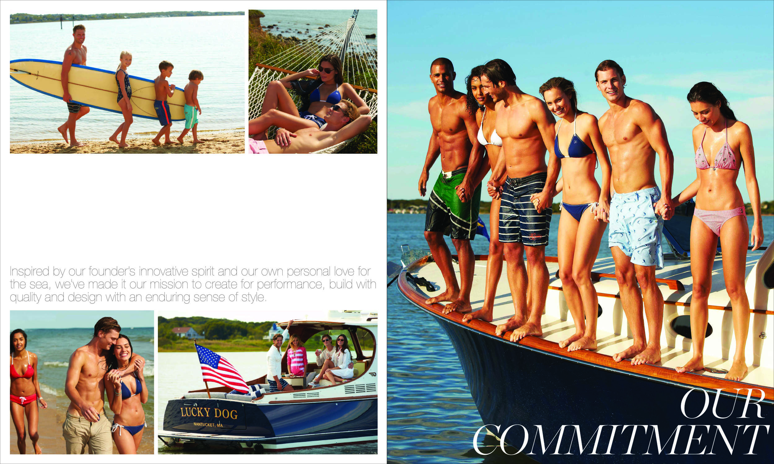 BRANDBOOK — Strategy, art direction and design of Sperry Top-Sider brand guidelines.