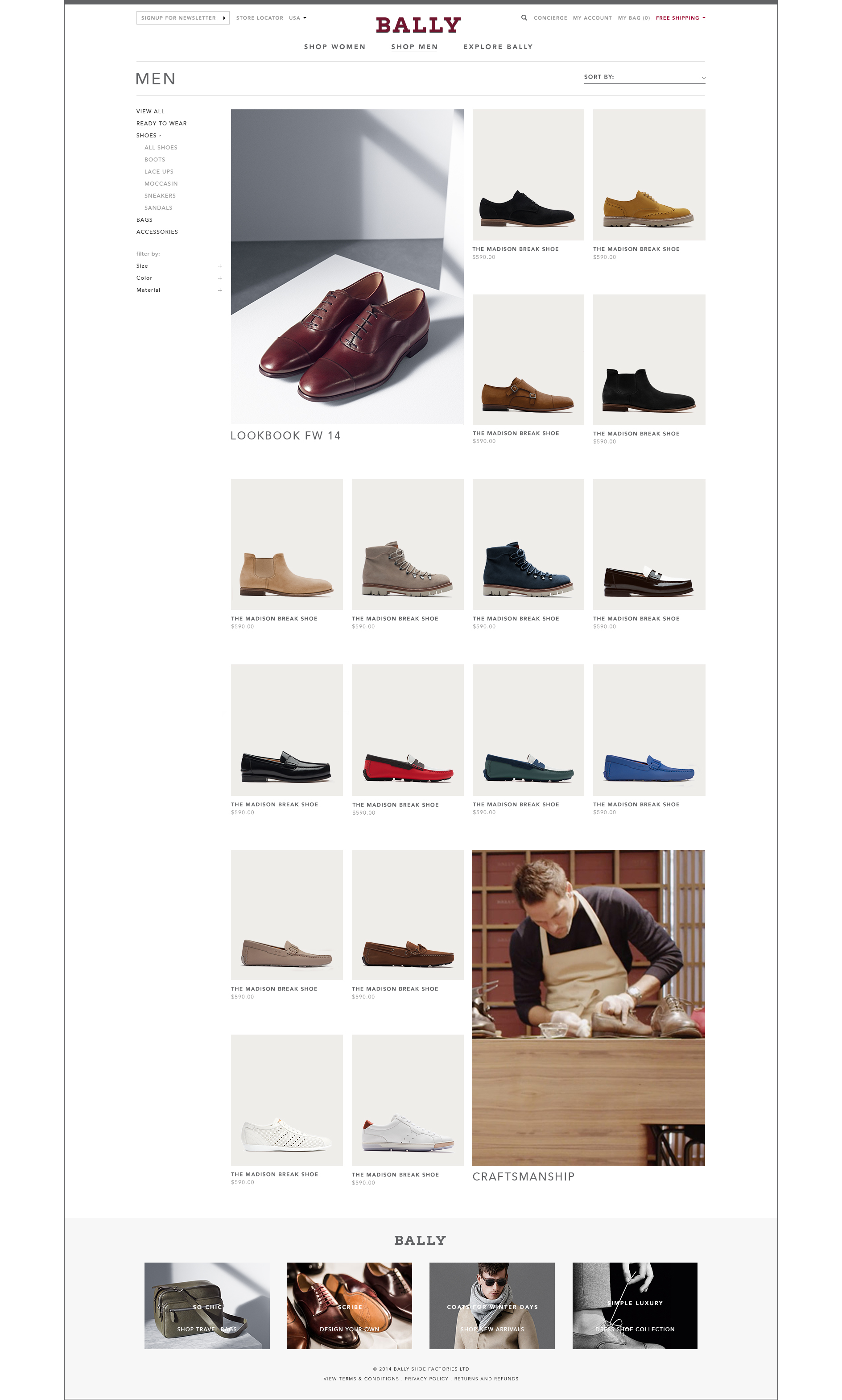 A.S.Castro_Bally web design_listings page