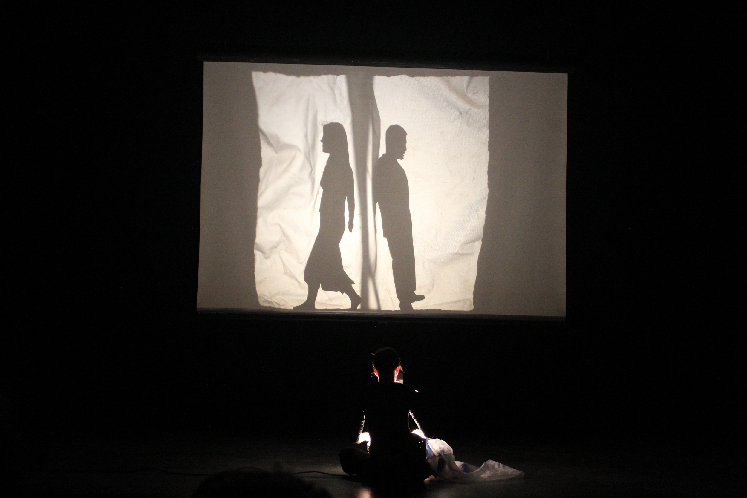 Performing at 2014 UConn Spring Puppet Slam