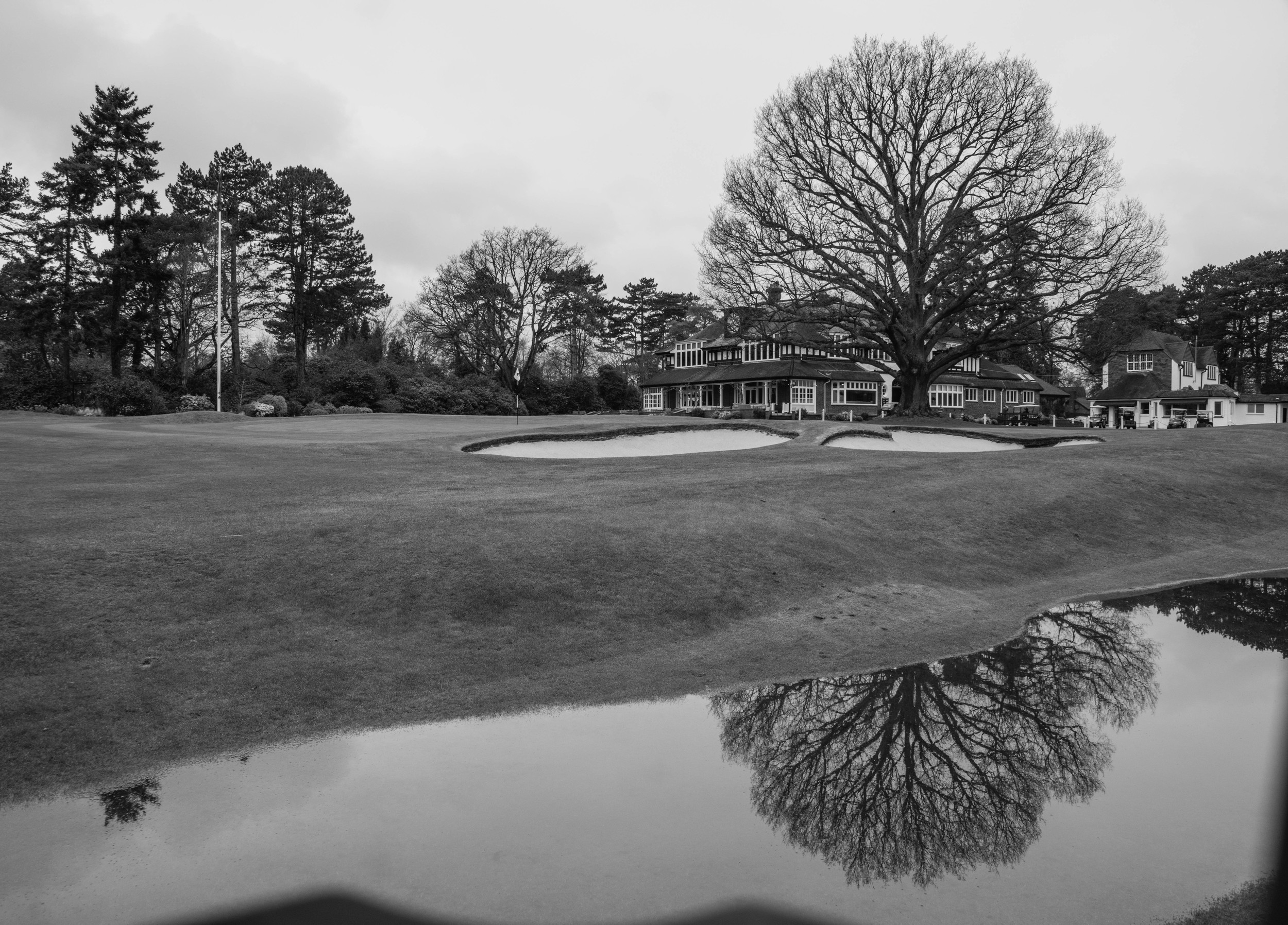 Sunningdale 18th view