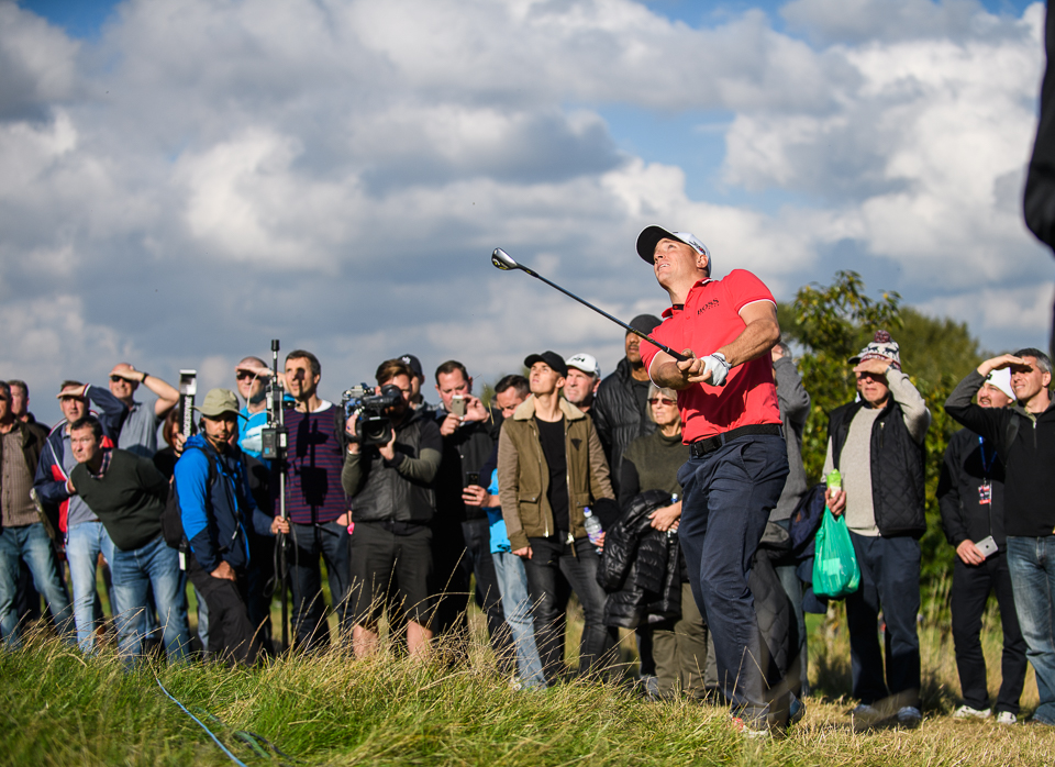Alex Noren makes another first class escape at the 11th