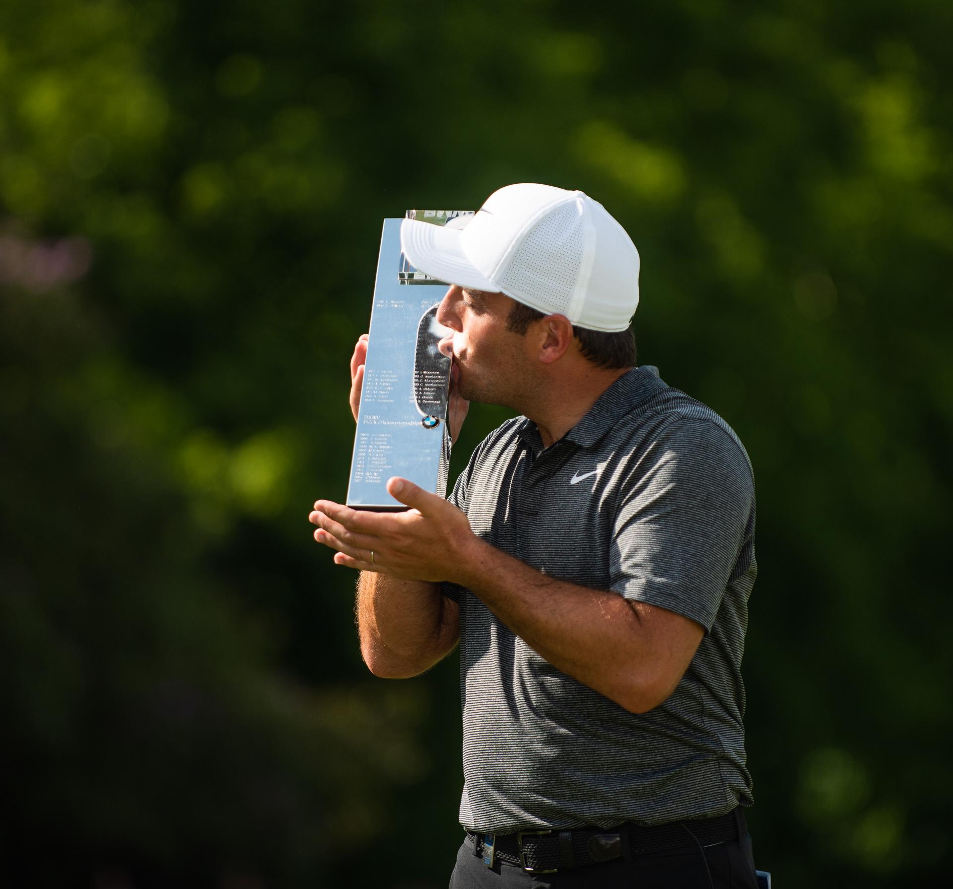 The third Italian to win the PGA Championship