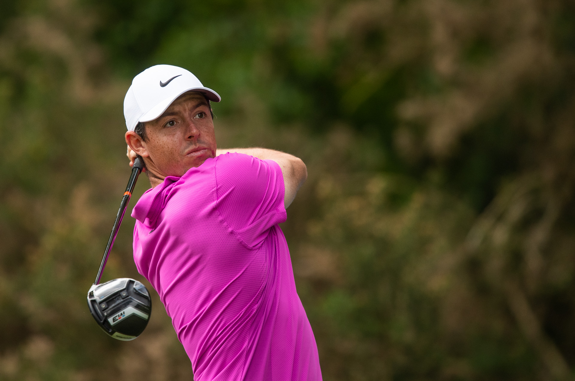 Rory was immaculate from the tee, a treat for golf course photography.