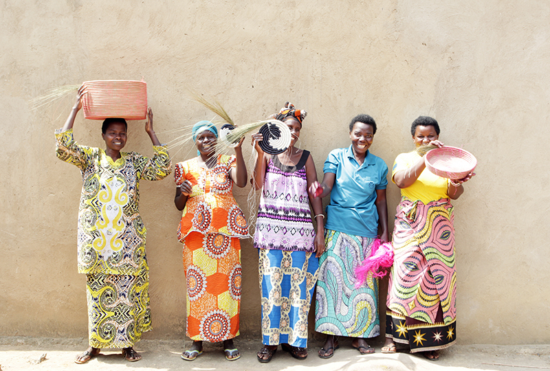In June 2015, Dining for Women is supporting Indego Africa. Indego Africa is a non-profit based in Rwanda that supports women through the economic empowerment of selling their own crafts.