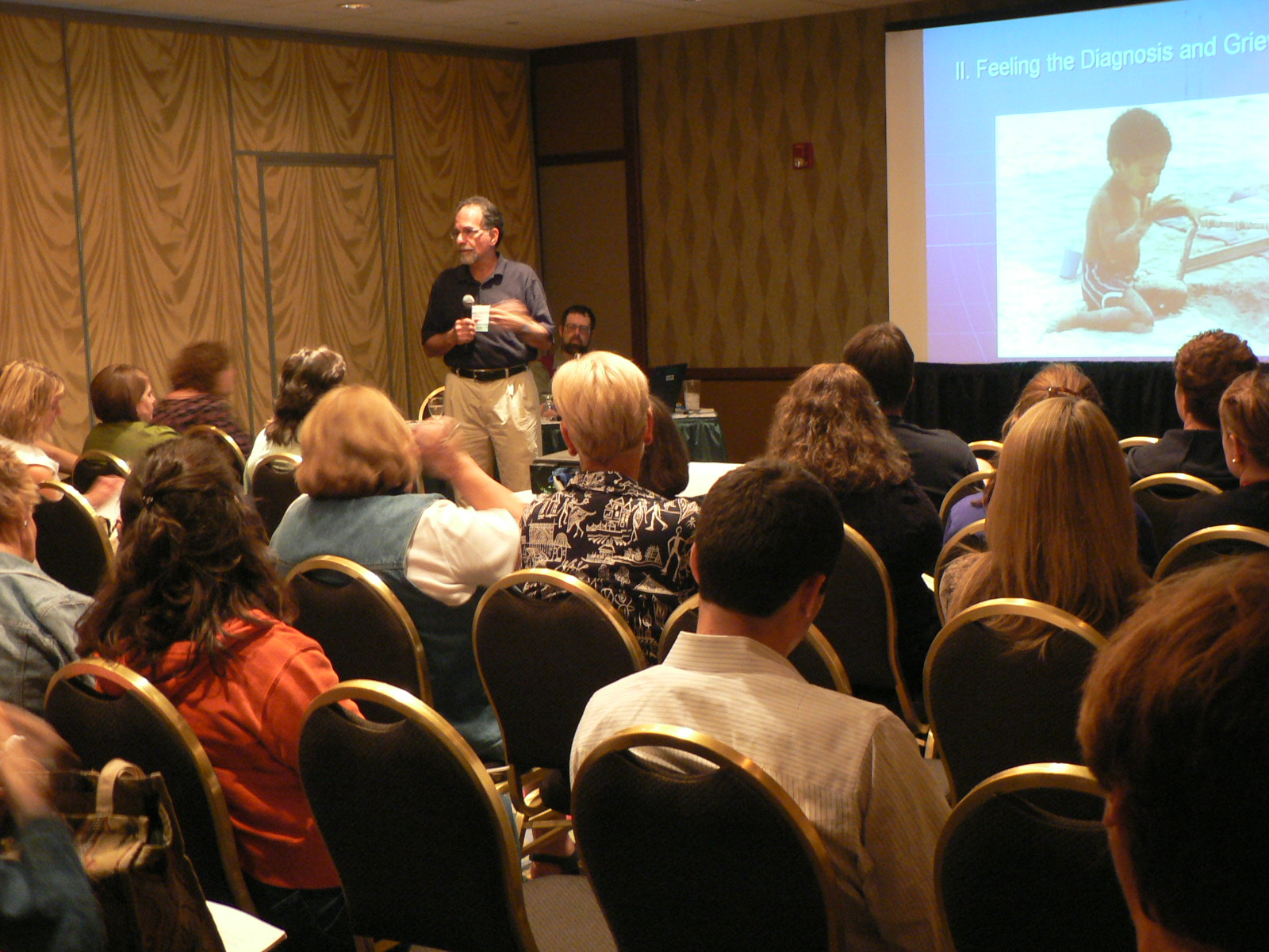 2009, ASA Conference, Living with Autism in the Family.