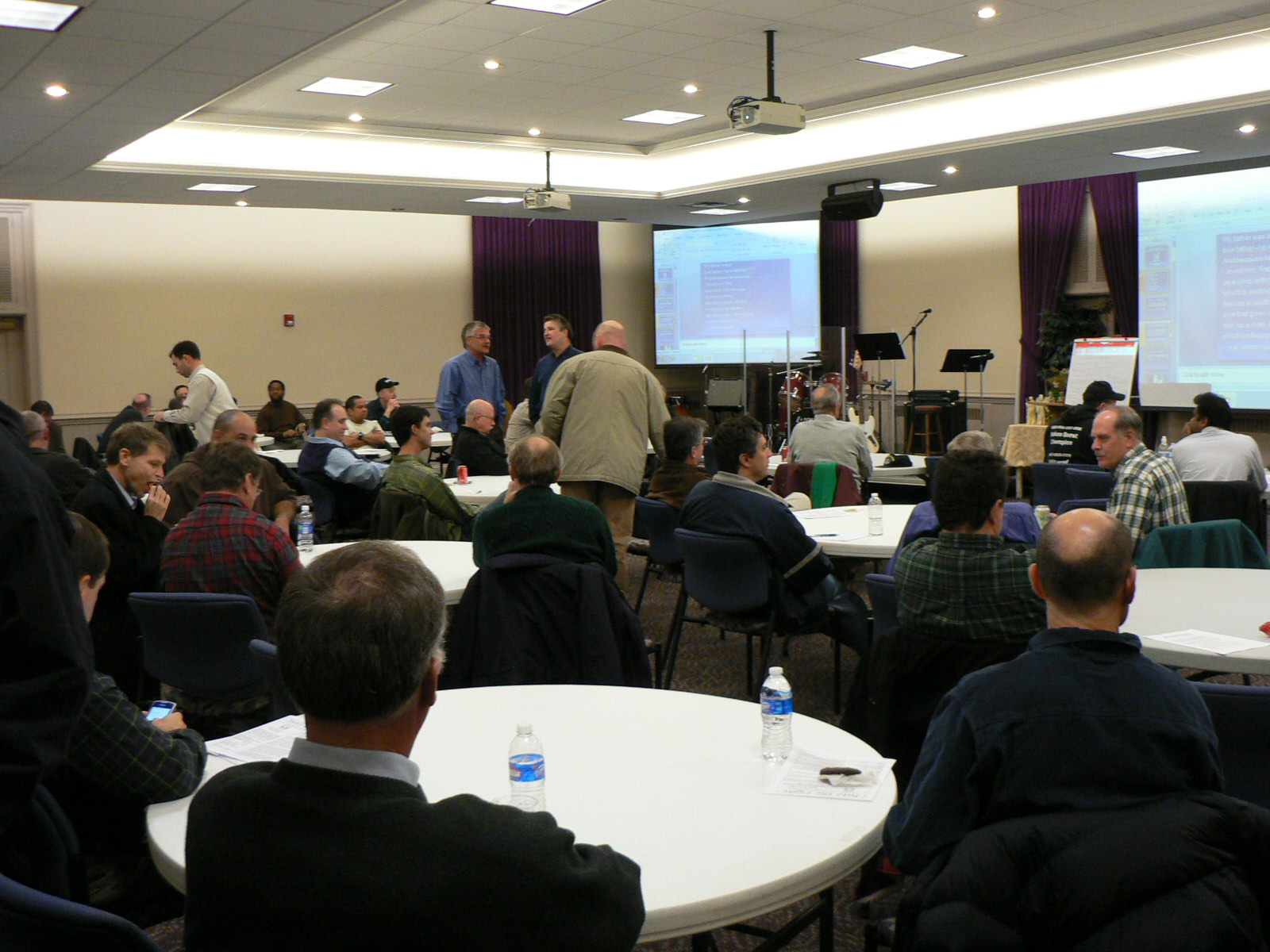 2014, Fathers' Workshop, Richmond Virginia.