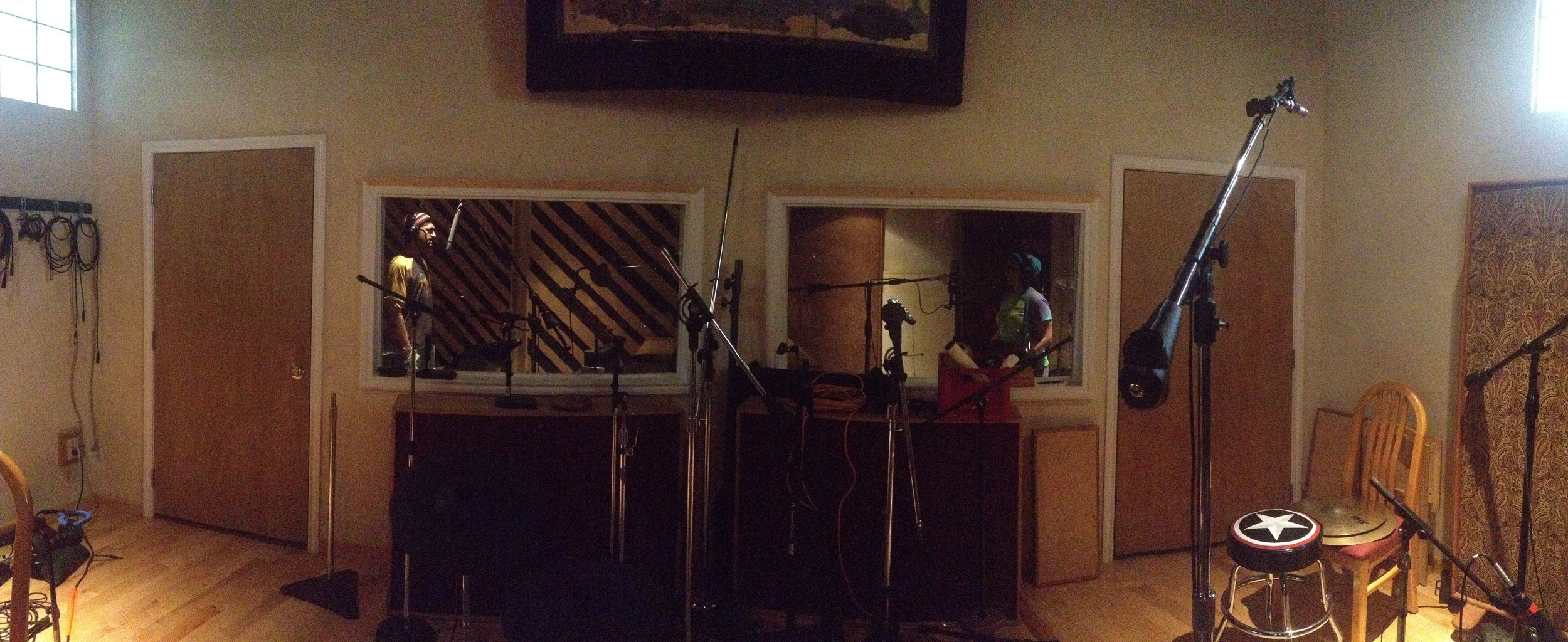 Infinite Agenda, vocal overdubs