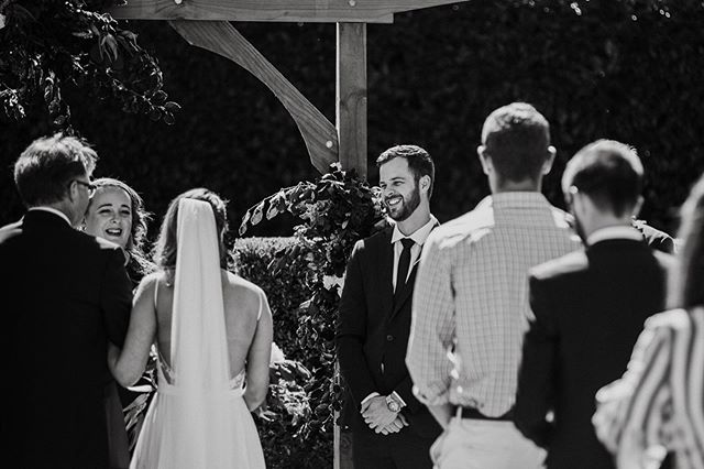 I always think that when it comes to picking your celebrant you should pick someone who you'd want to be friends with in real life; someone you want to spend time with, someone who you know cares about your wedding and someone who's face you'll be delighted to see beaming  back at you as you walk down the aisle. 📷 by @meredithlord