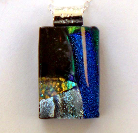 2-6-12-Neva Setlow-Blue and Silver Dichroic Necklace-1.jpg