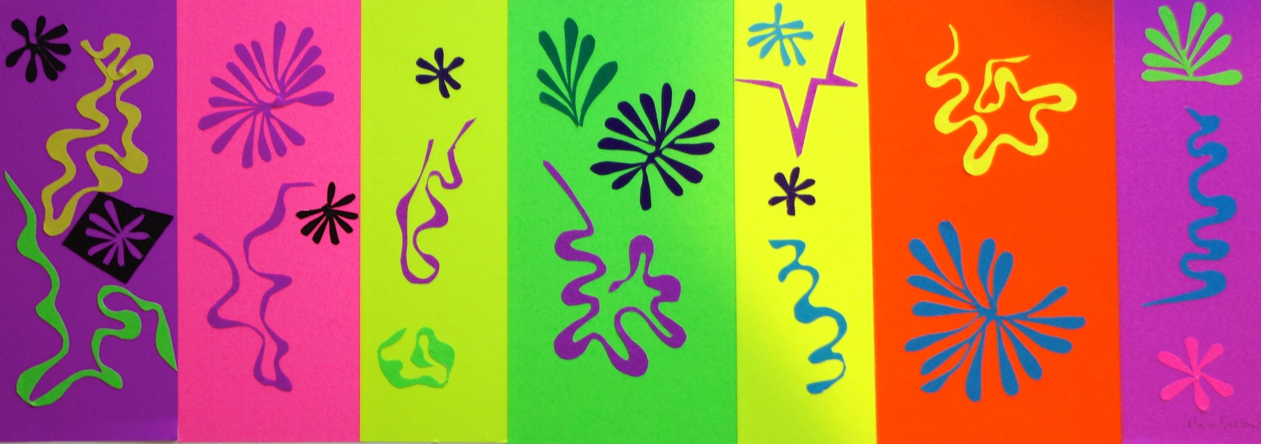DANCING WITH MATISSE #4