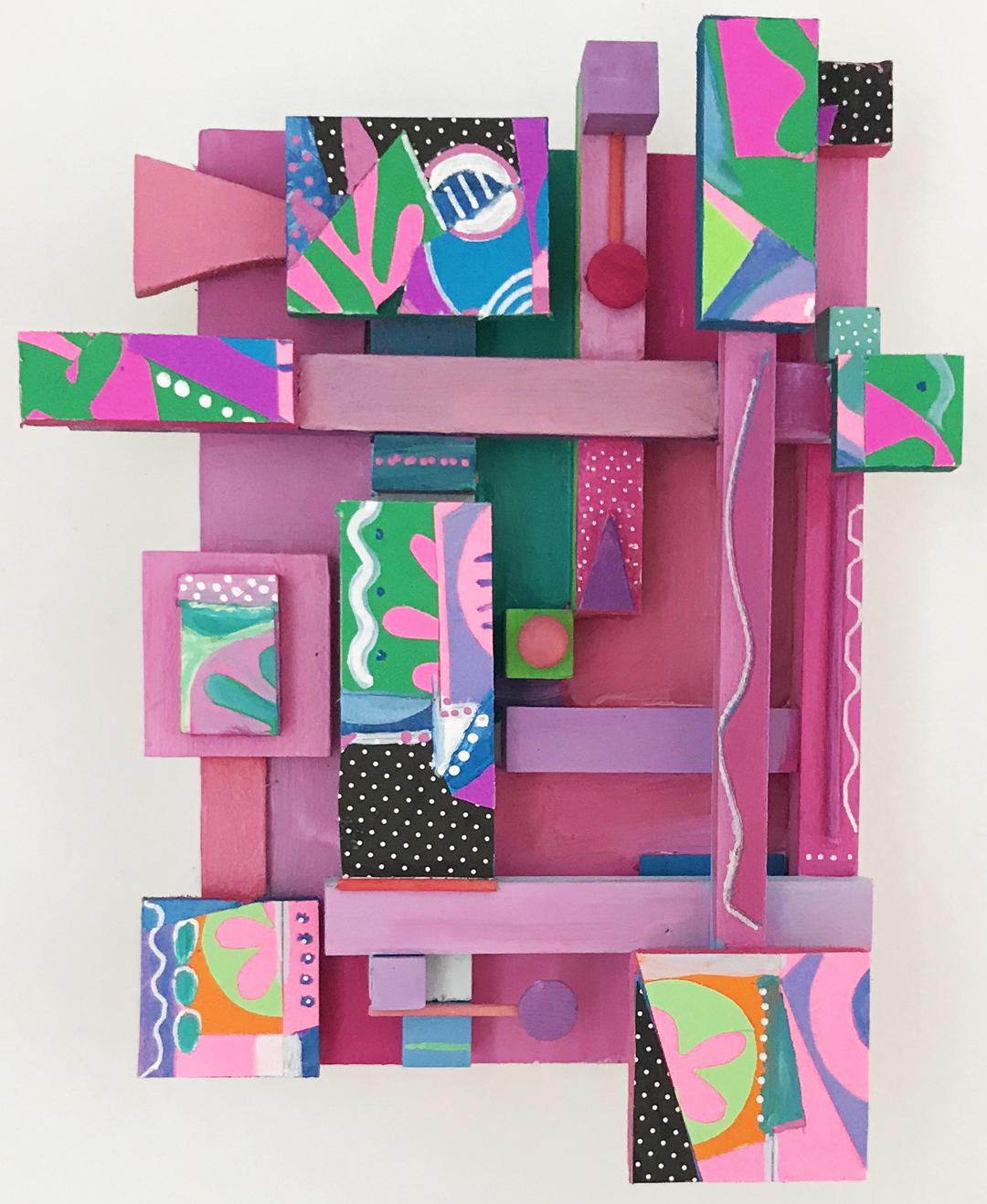 Neva Setlow-Wood+collage-Abstract Garden.jpg