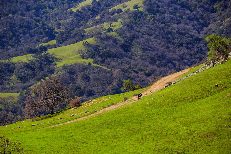 Backpack and McCorkle Trails - Sunol Regional Wilderness