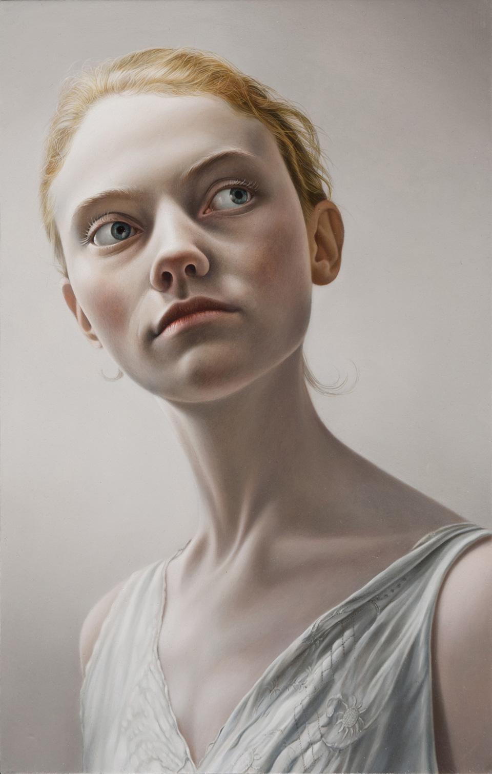 Georgie   Oil on Panel  Selected for BP Portrait Award 2011 National Portrait Gallery UK