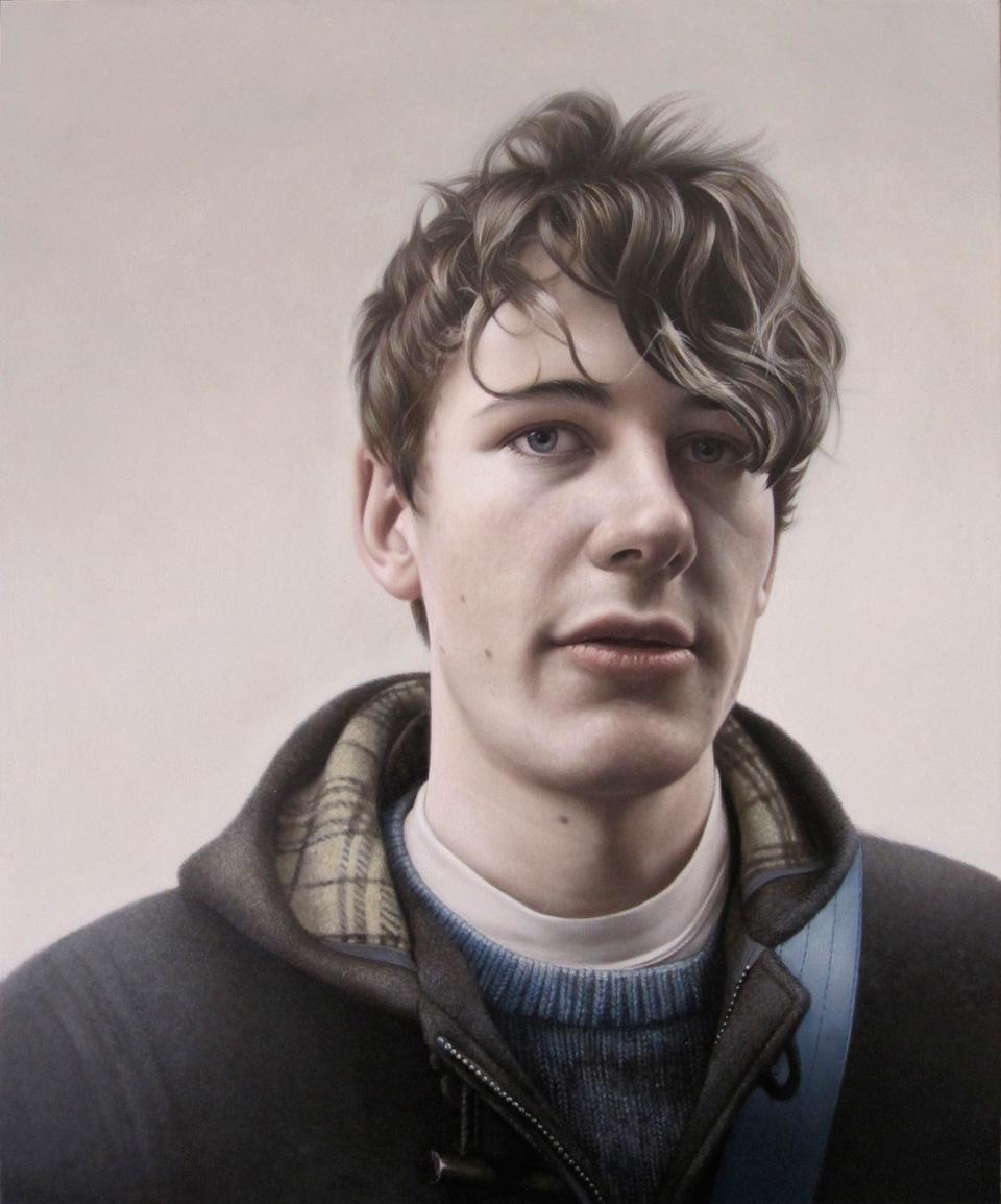 Dan   Oil on Panel  Selected for BP Portrait Award 2010 - National Portrait Gallery UK