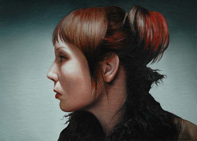 Self-Portrait   Donated to National Portrait Gallery, for 150th  Anniversary Mystery Portrait Gala 2006