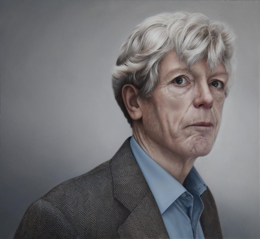 Jonathan Ansell   Oil on Panel  Selected for BP Portrait Award 2012 National Portrait Gallery UK