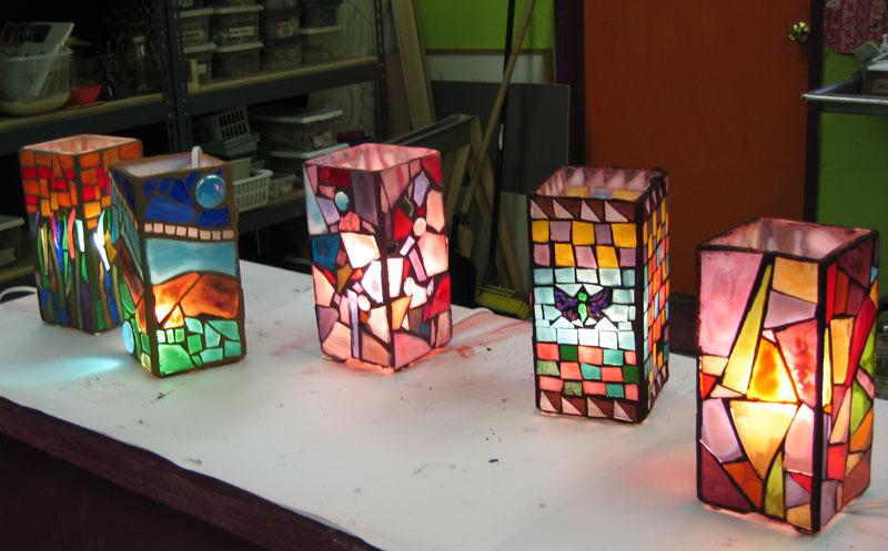 Gl Mosaic Lamp True Mosaics Studio