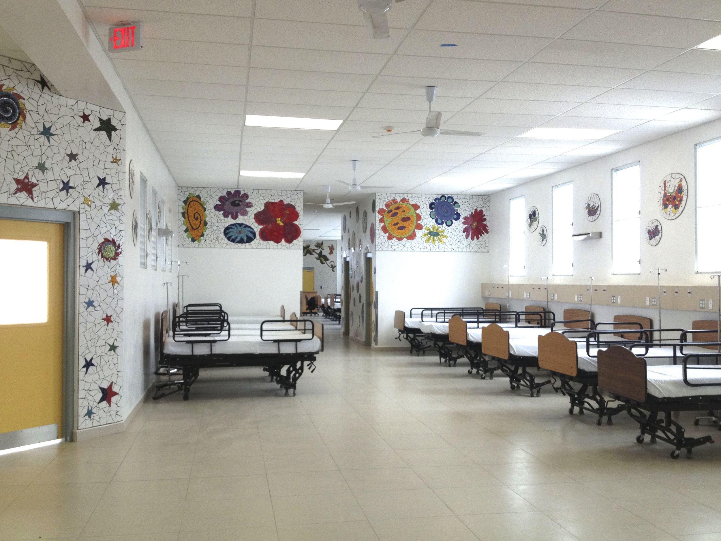 Pediatric Ward at Mirebalais Hospital