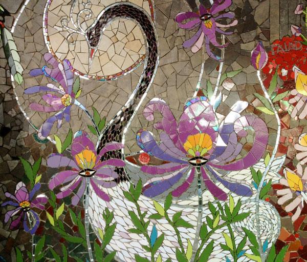 International Urban Mosaic Intervention, Chile — True Mosaics Studio
