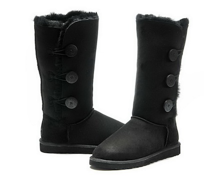 New Discount UGG Bailey Button Triplet Tall Boots 1873 Black.jpg