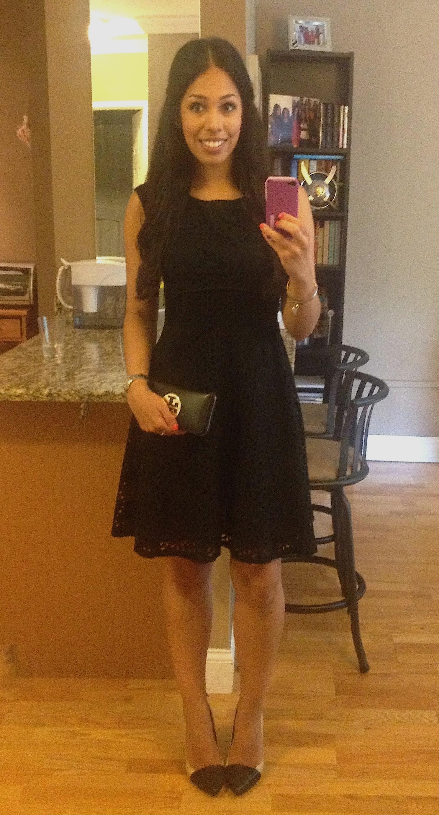 Black Lace Dress My Golden Beauty