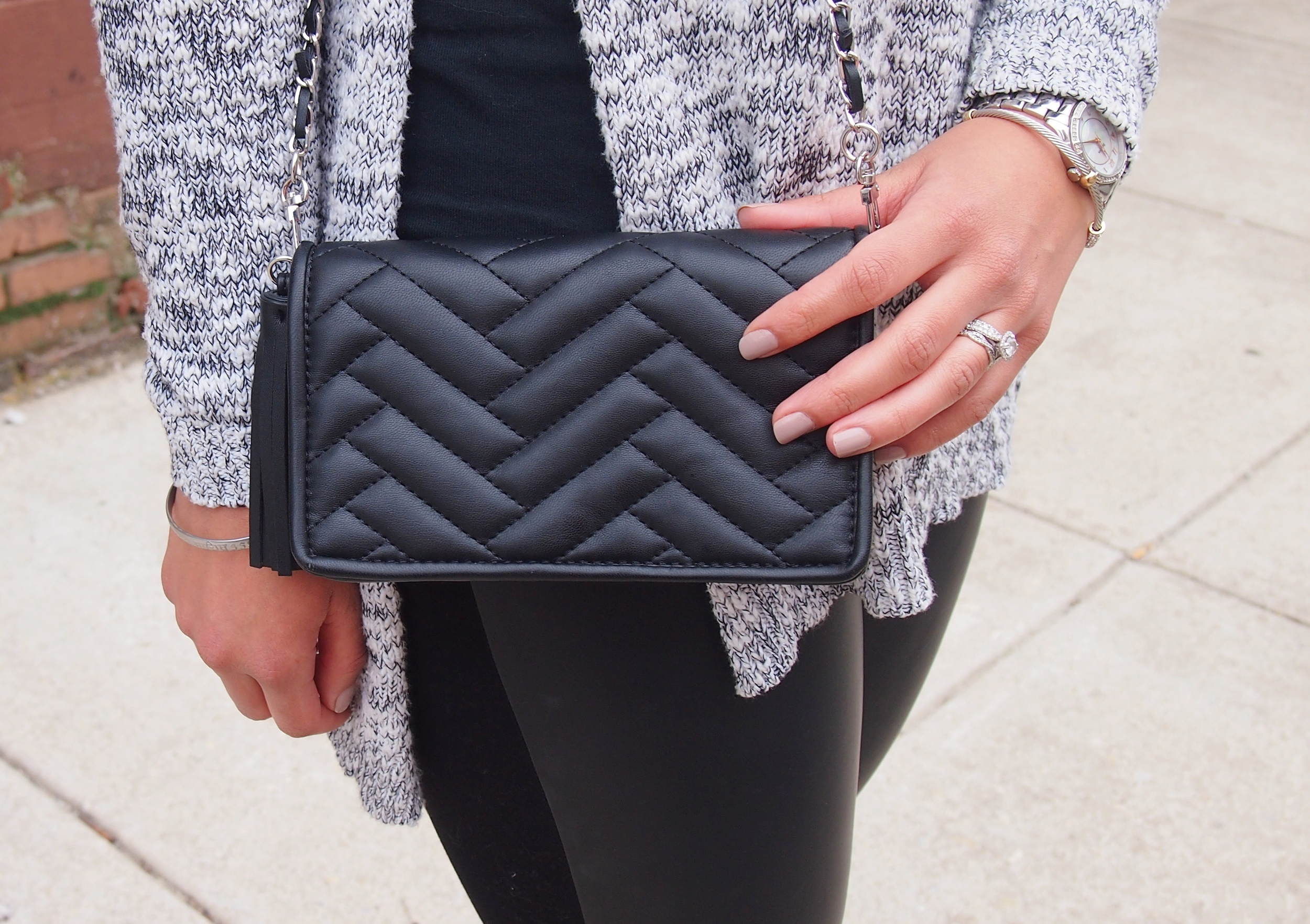 Zara Mini Messenger Cross Body Bag