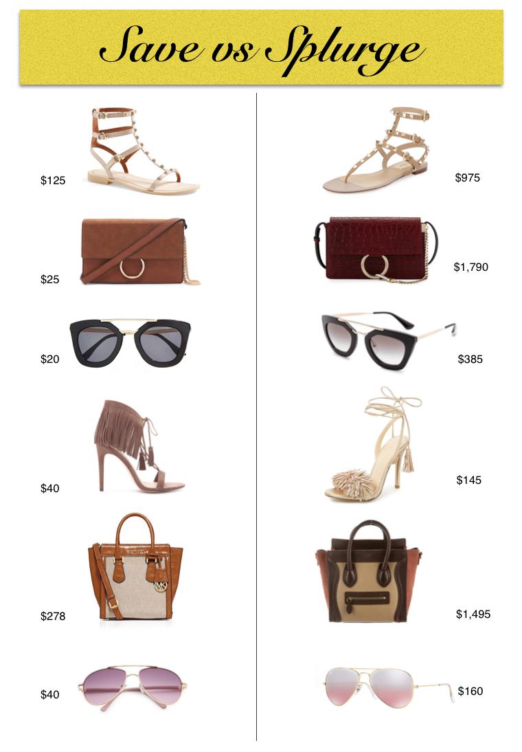 Designer Dupe For Less Spring Fashion Shoes Handbag Sunglasses