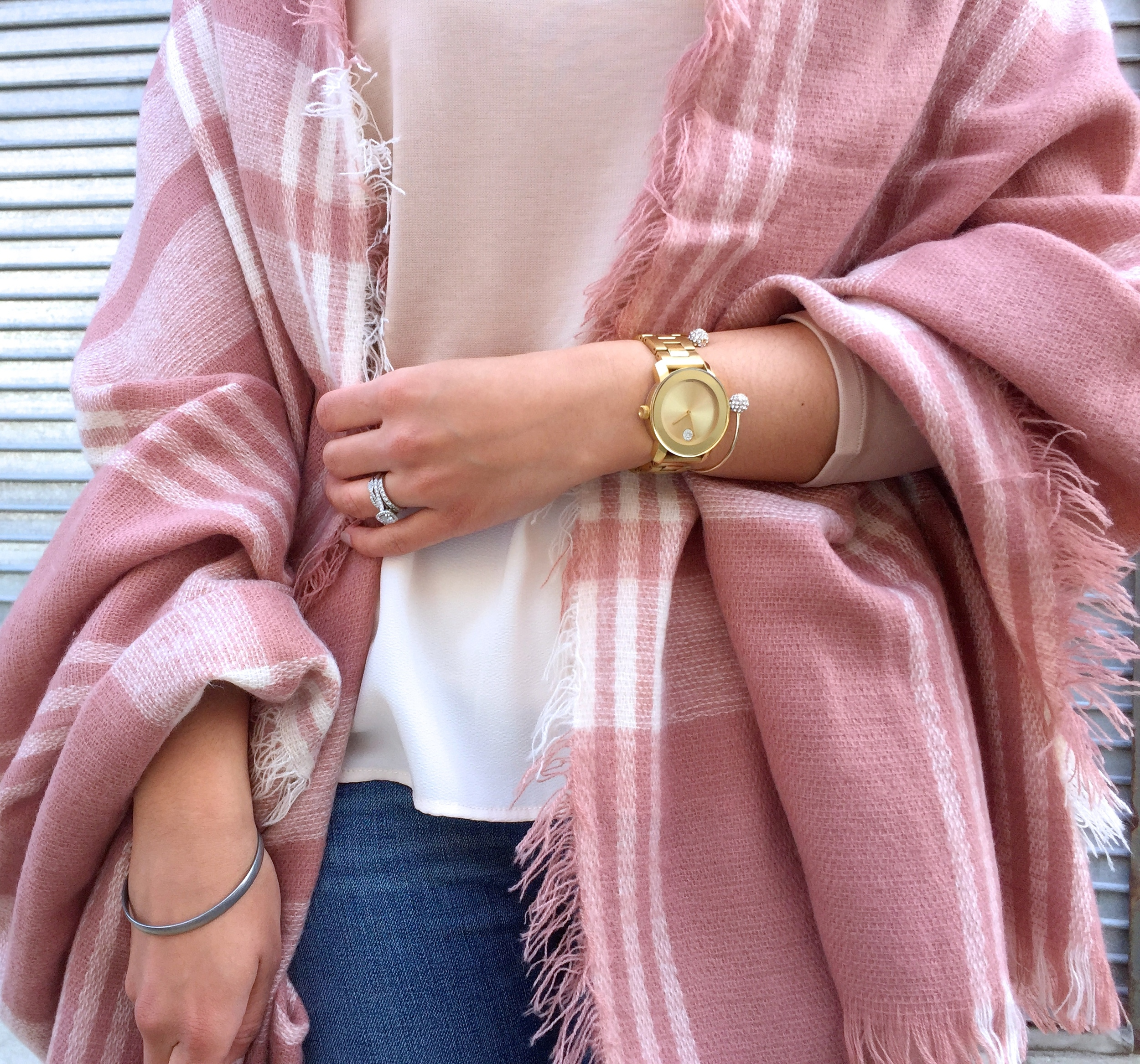 Pink and Cream Neutral Spring Outfit Accessories