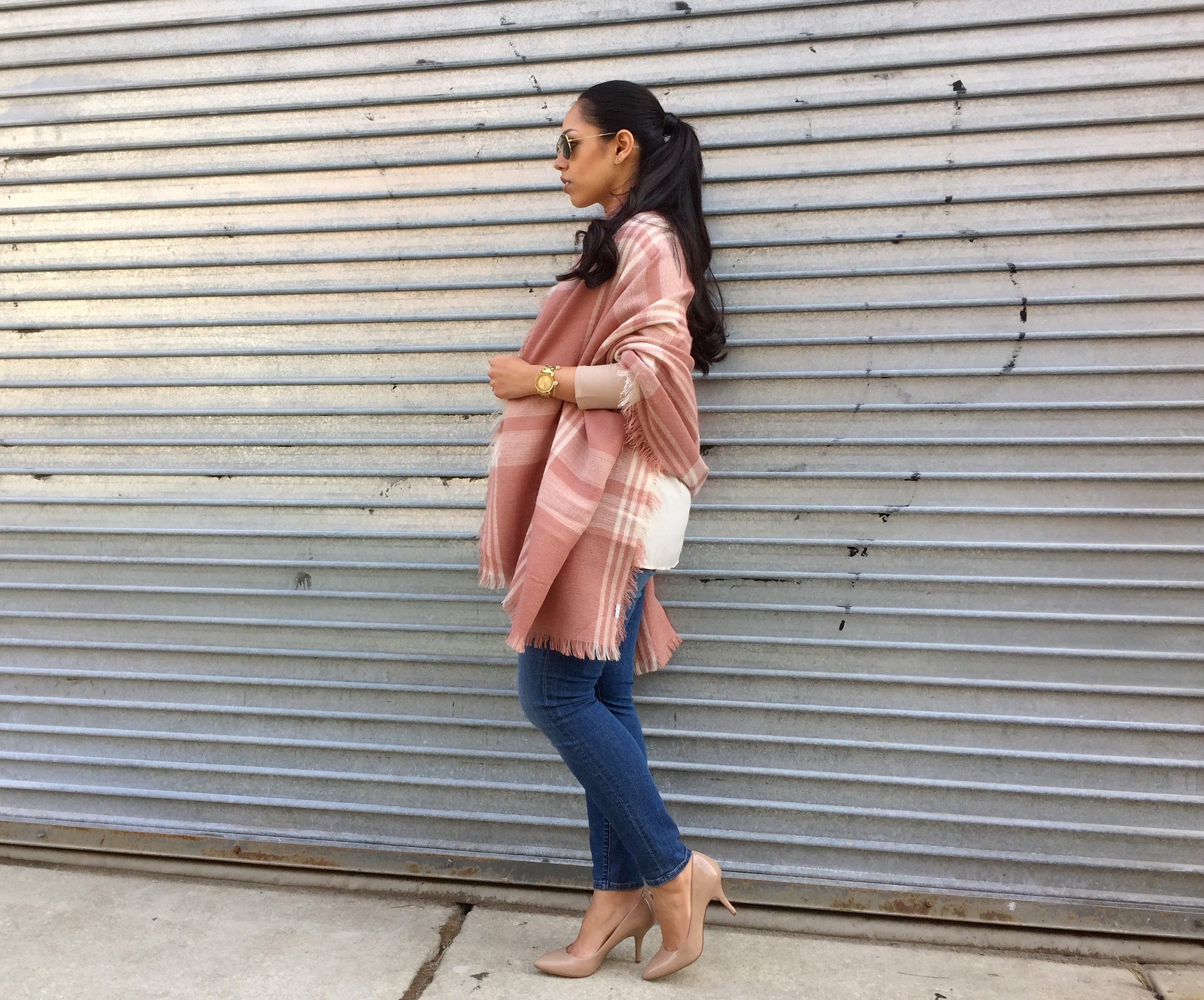 Pink and Cream Neutral Spring Outfit