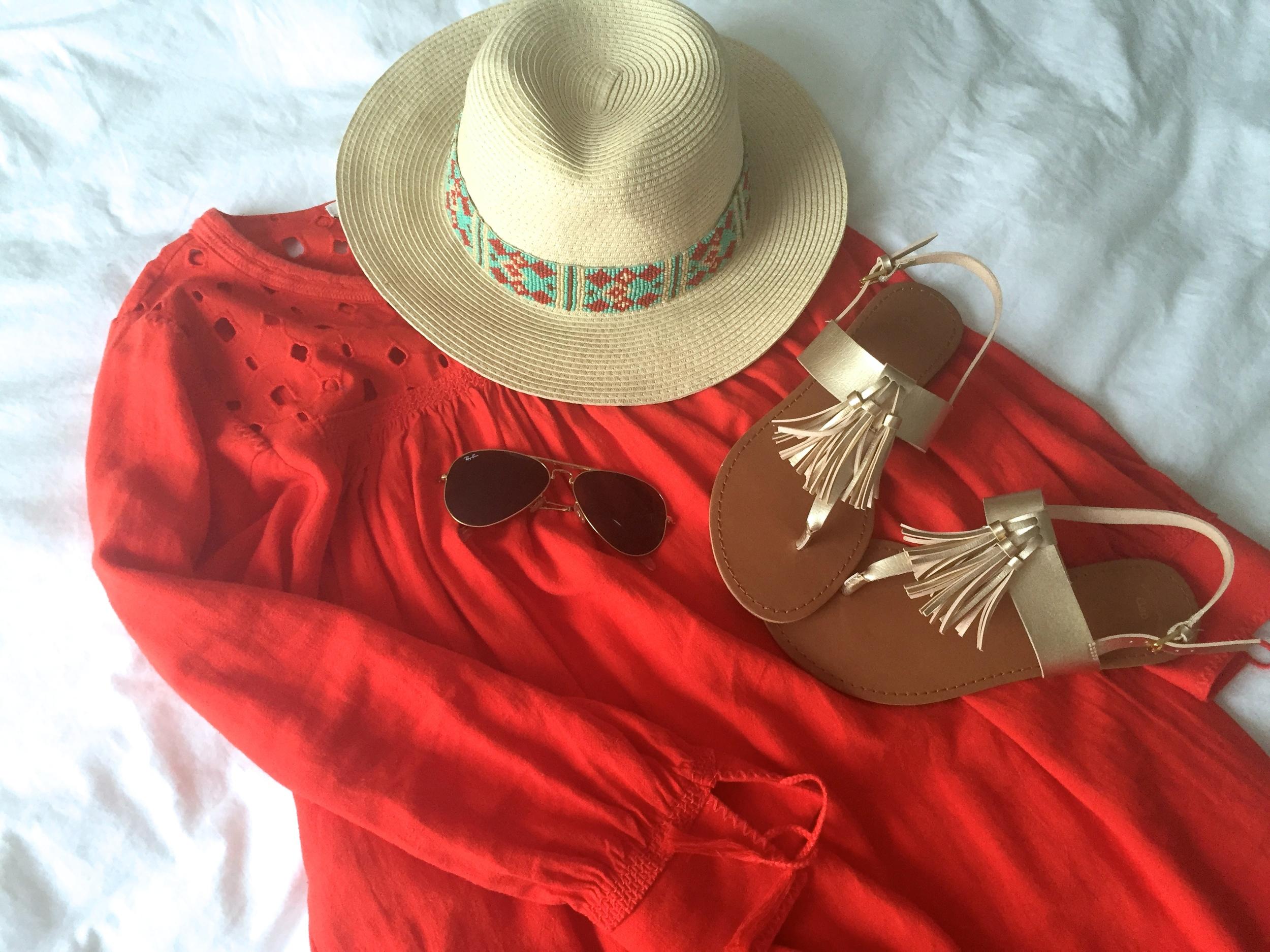 Madewell Dress Fringe Sandal