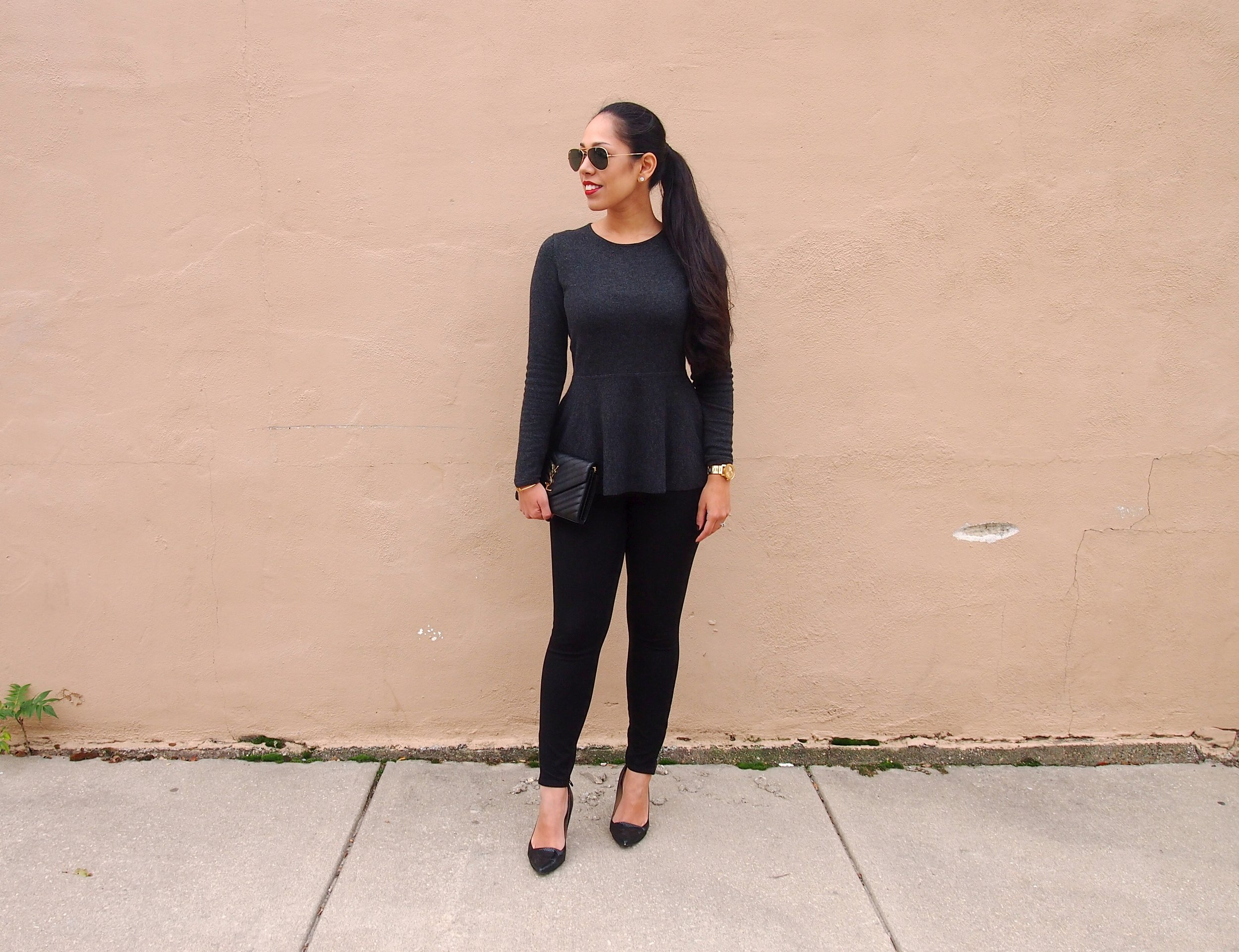 Peplum-Sweater-Loft