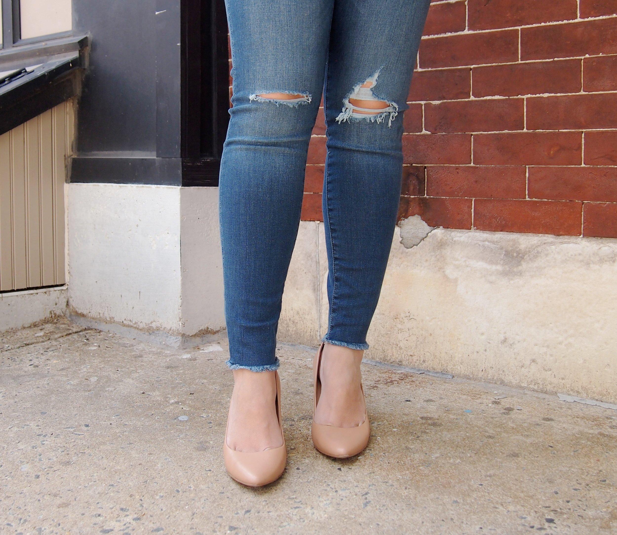 Fray-Hem-Jeans