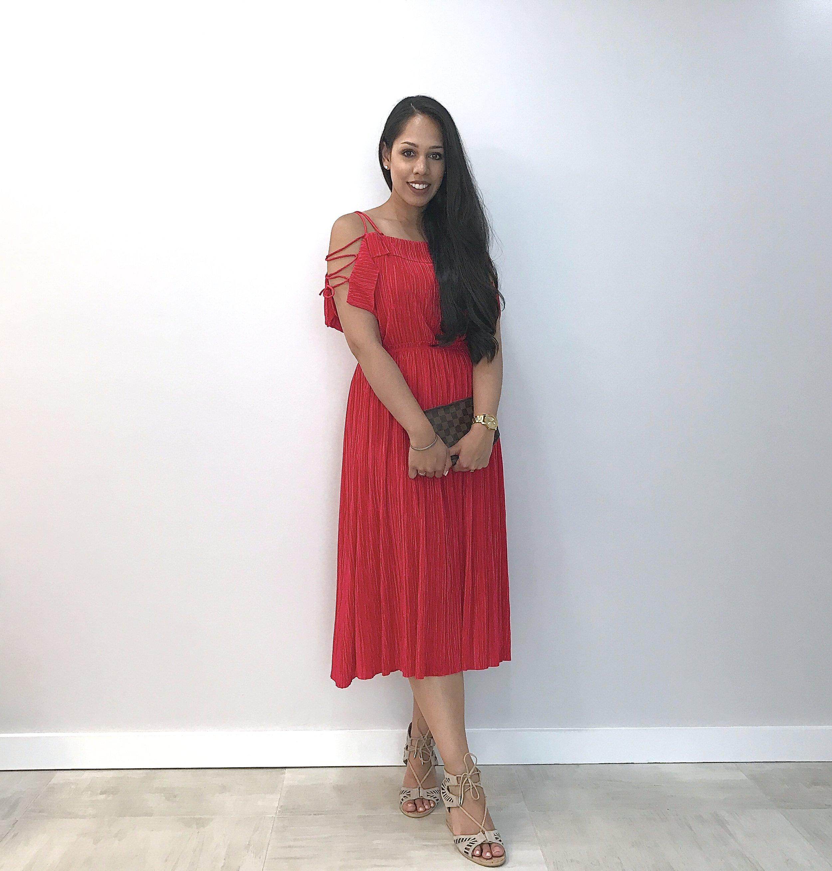 Express-Red-Dress