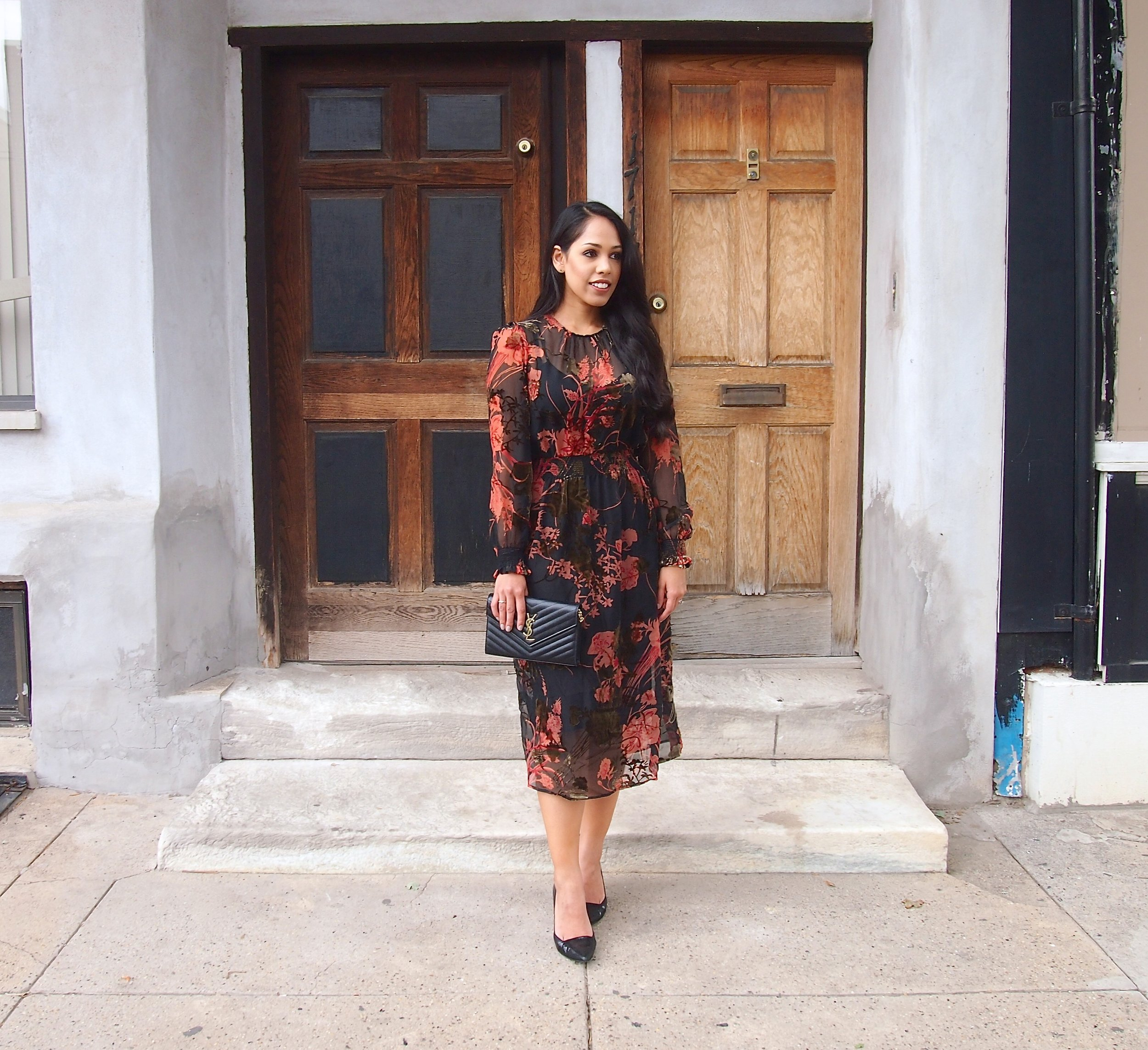 zara-fall-fashion-midi-dress