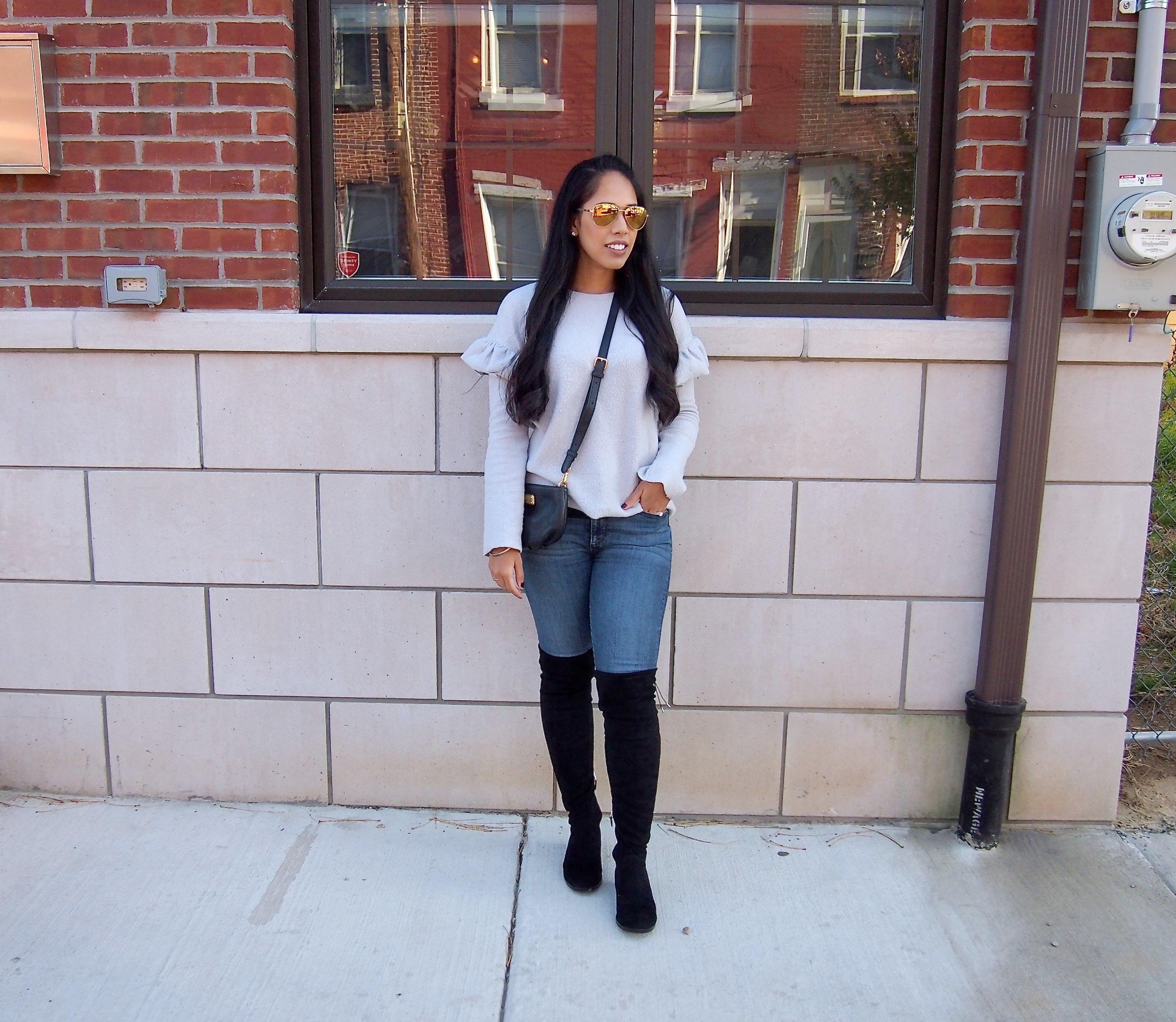 zara-cozy-gray-sweater-fall-fashion